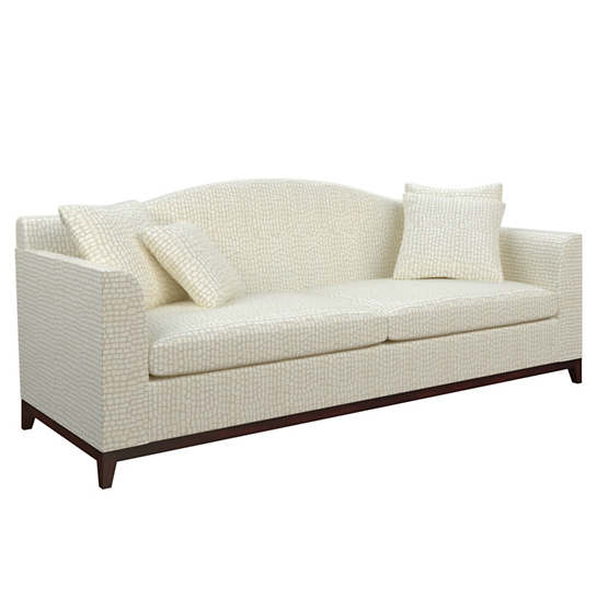 Pebble Ivory Marseille Sofa