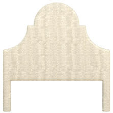 Pebble Ivory Montaigne Headboard