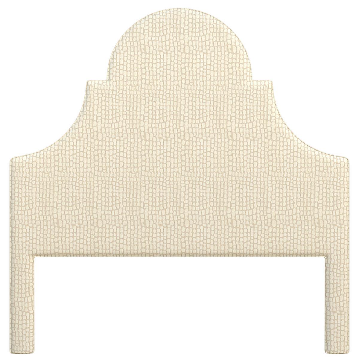 Pebble Ivory Montaigne Headboard