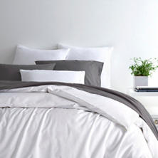 Essential Percale White Duvet Cover