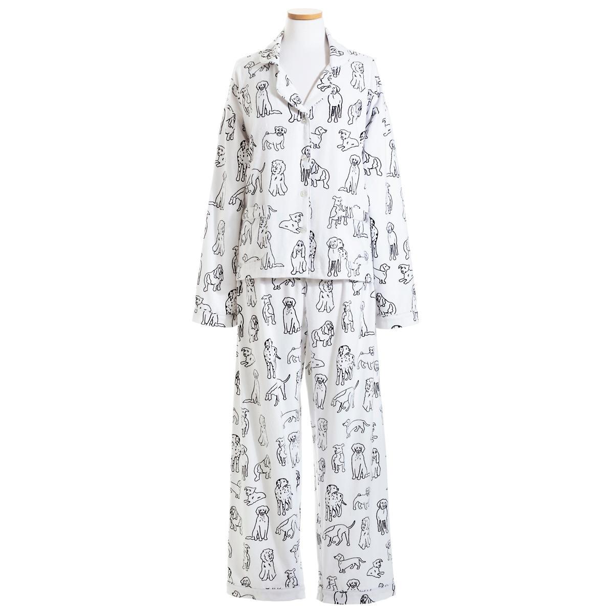 Dog Doodle Flannel Pajama