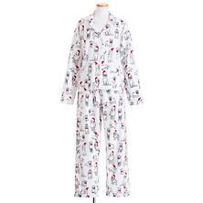 Santa Doodle Flannel Pajama