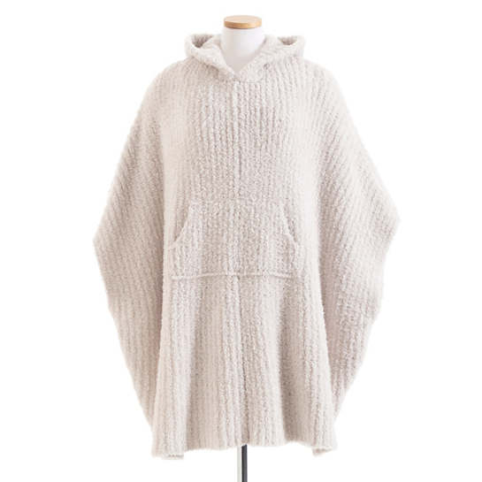 The Cozy Almond Poncho