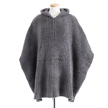The Cozy Ash Poncho