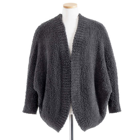 Cozychic Carbon Shrug