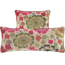 Peruvian Floral Embroidered Multi Pillow