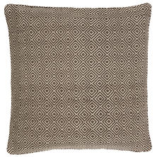 Petit Diamond Charcoal/Platinum Indoor/Outdoor Pillow