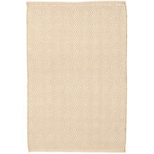 Petit Diamond Wheat/Ivory Indoor/Outdoor Rug