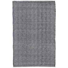 Petit Diamond Navy/Ivory Indoor/Outdoor Rug