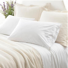 Petite Ruffle White Sheet Set