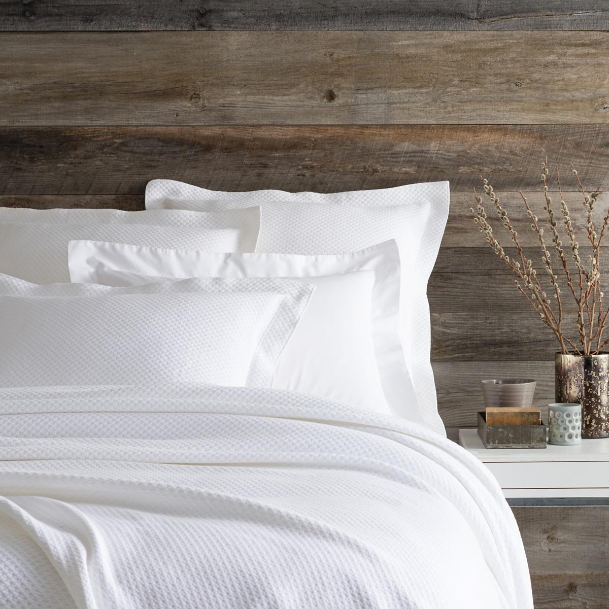 Pine Cone Hill; U003e Bedding. Petite Trellis White Matelassé Coverlet