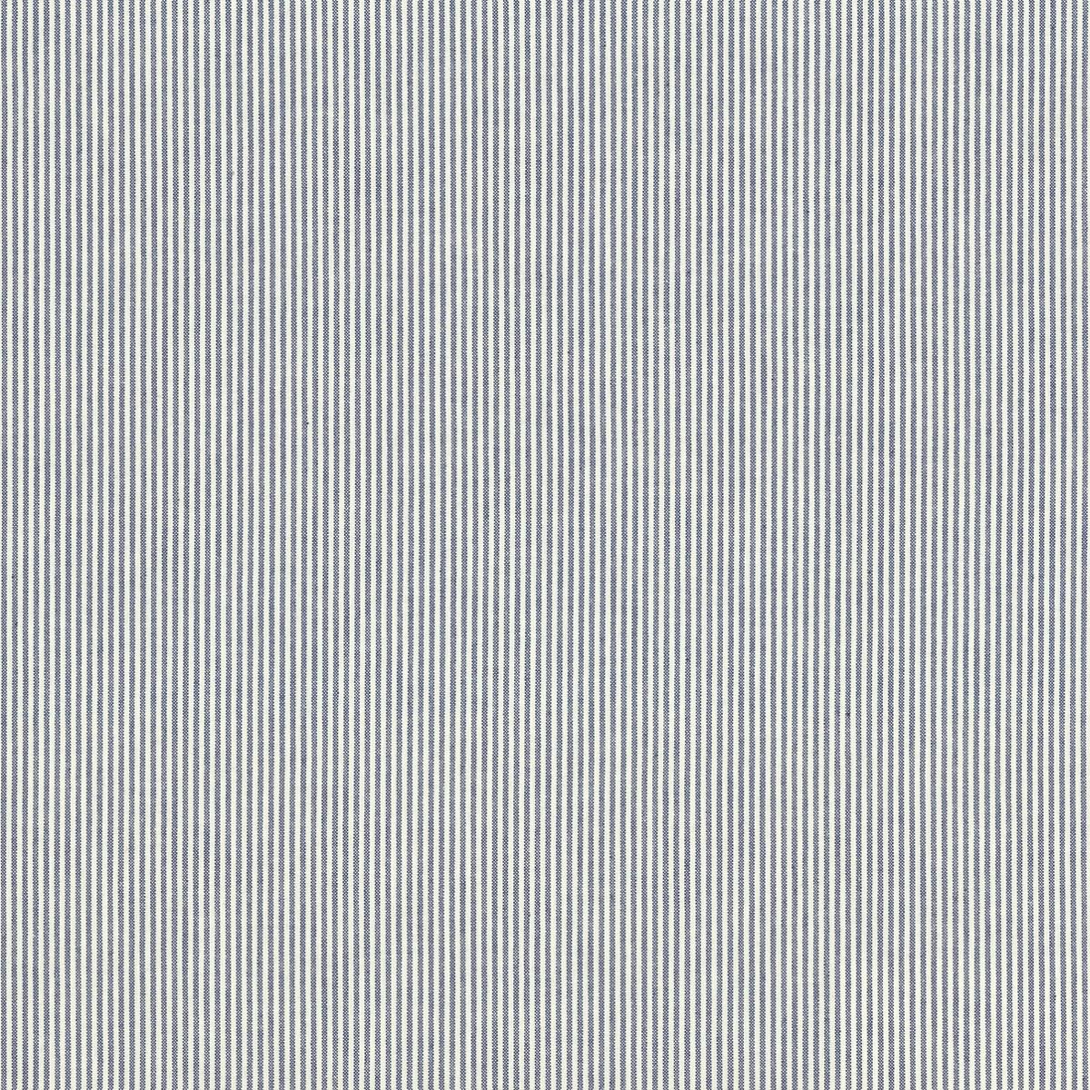 Pinstripe Navy Fabric