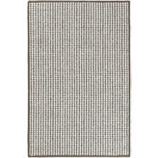 Pixel Grey Woven Sisal/Wool Rug