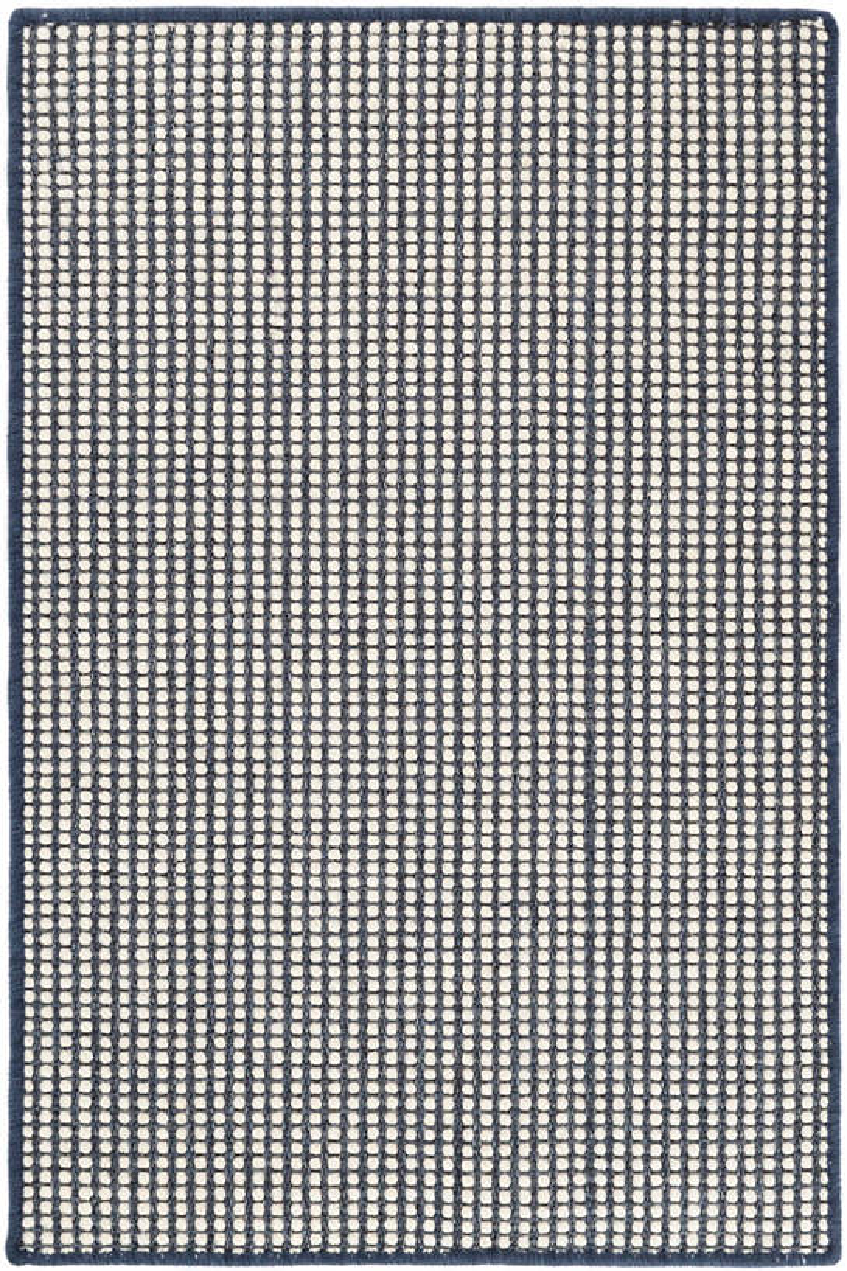 Pixel Indigo Woven Sisal/Wool Rug