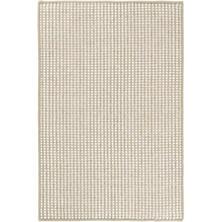 Pixel Wheat Woven Sisal/Wool Rug