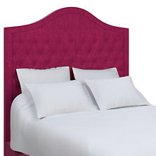 Plush Velvet Claret Essex Headboard