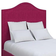 Plush Velvet Claret Westport Headboard