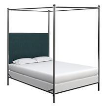 Plush Velvet Sapphire Everett Bed