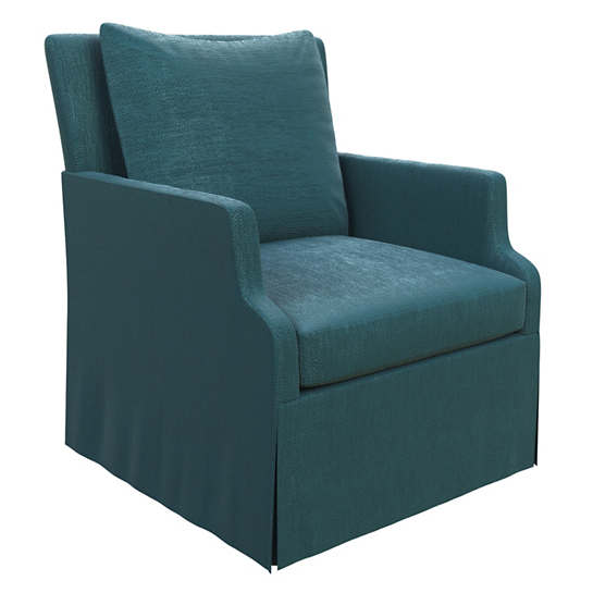 Plush Velvet Sapphire Aix Chair