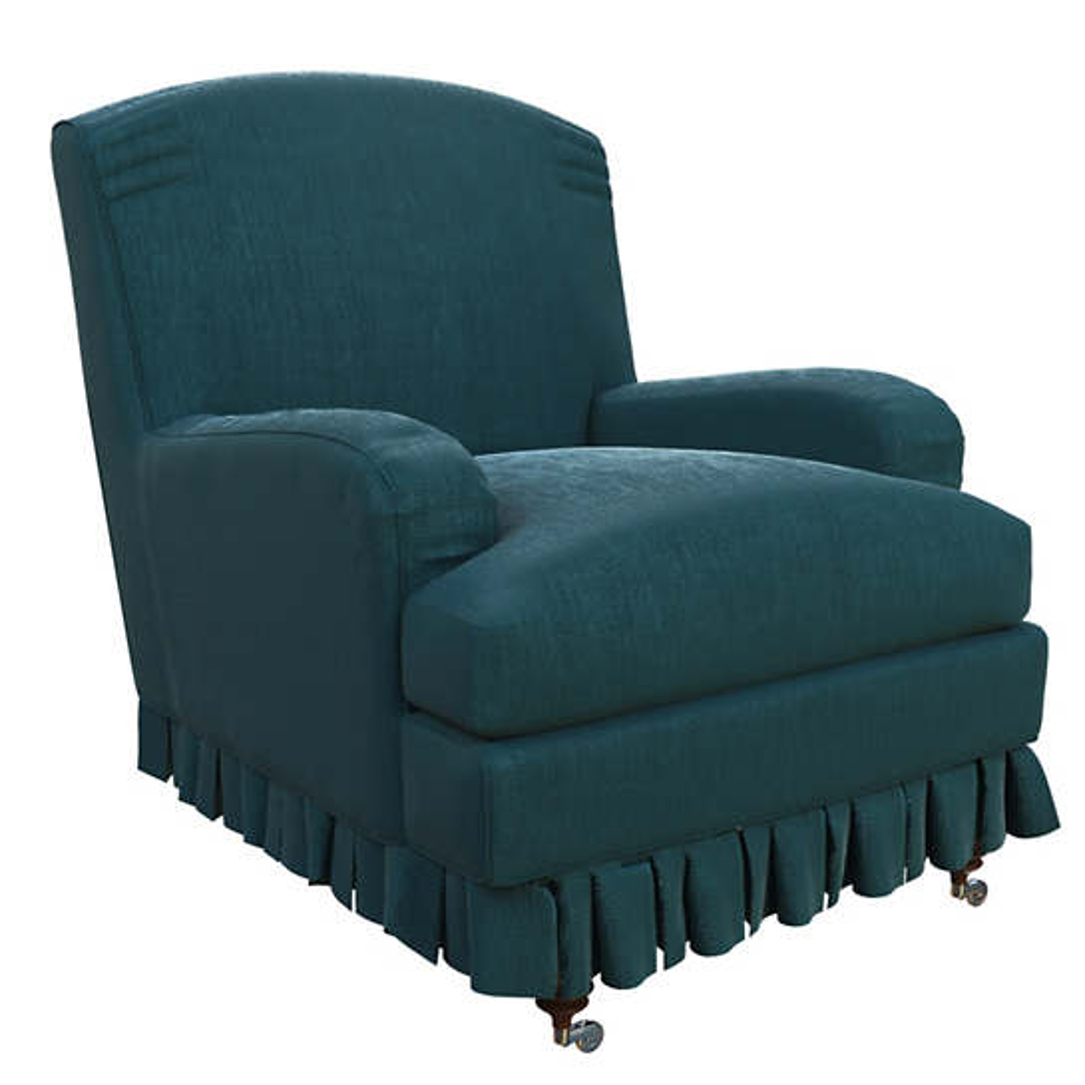 Plush Velvet Sapphire Ellis Chair