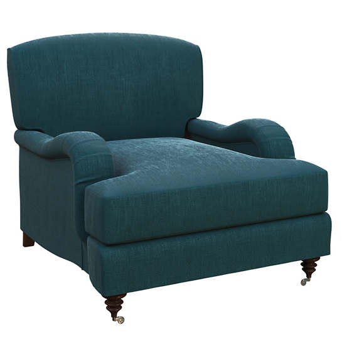 Plush Velvet Sapphire Litchfield Chair