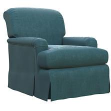 Plush Velvet Sapphire Longford Chair