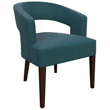 Plush Velvet Sapphire Wright Chair