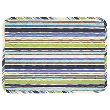 Pond Stripe Quilted Placemat