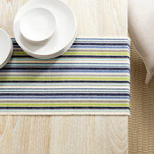 Pond Stripe Table Runner
