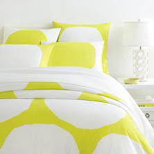 Pop Dot Green Duvet Cover