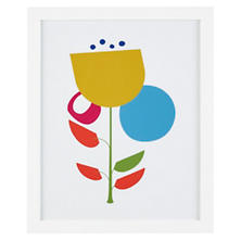 Pop Floral 1 Wall Art