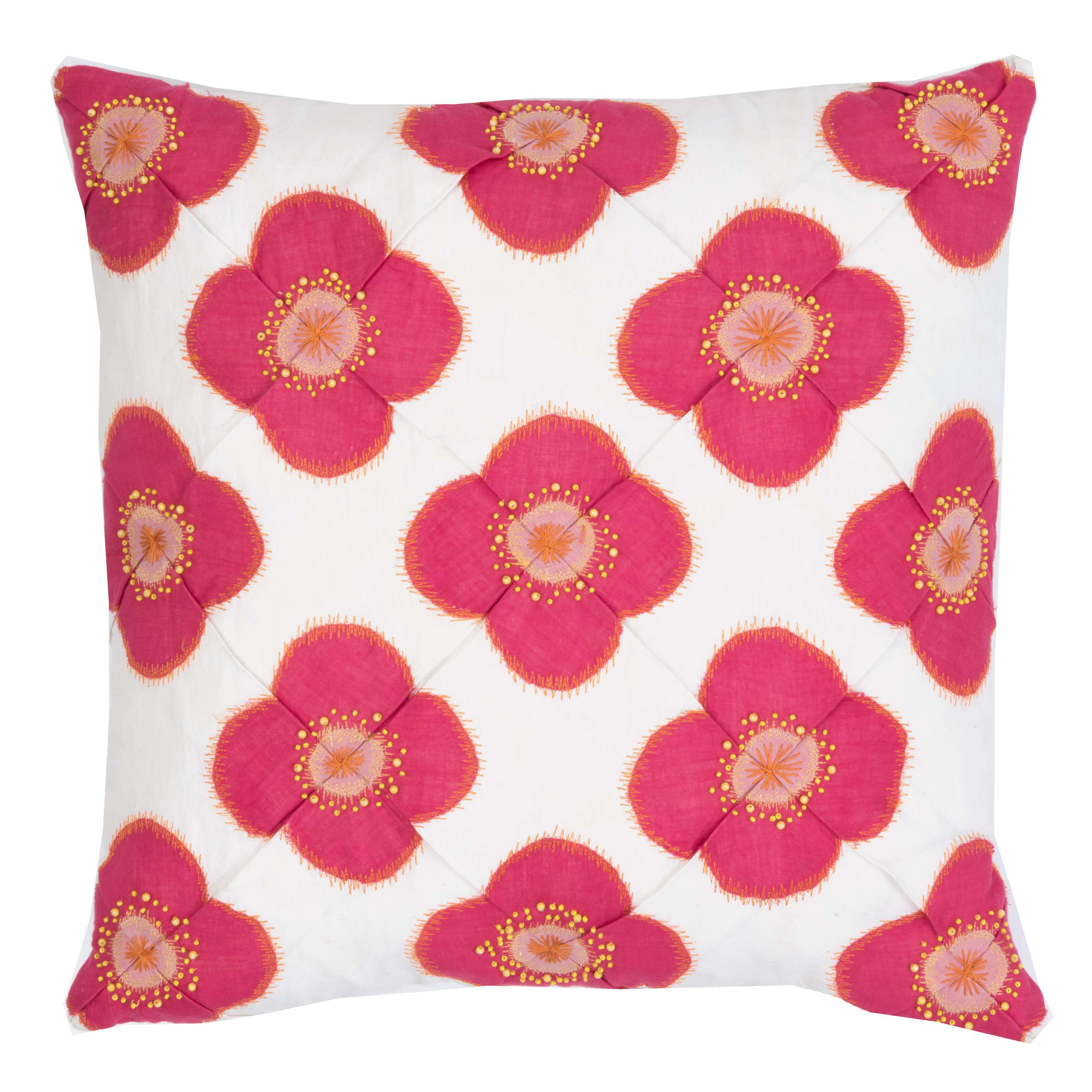 Poppy Pink Decorative Pillow | The Outlet