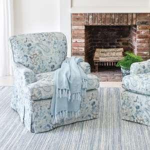 Ines Linen Blue Longford Chair