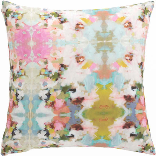 Psychedelia Garden Decorative Pillow