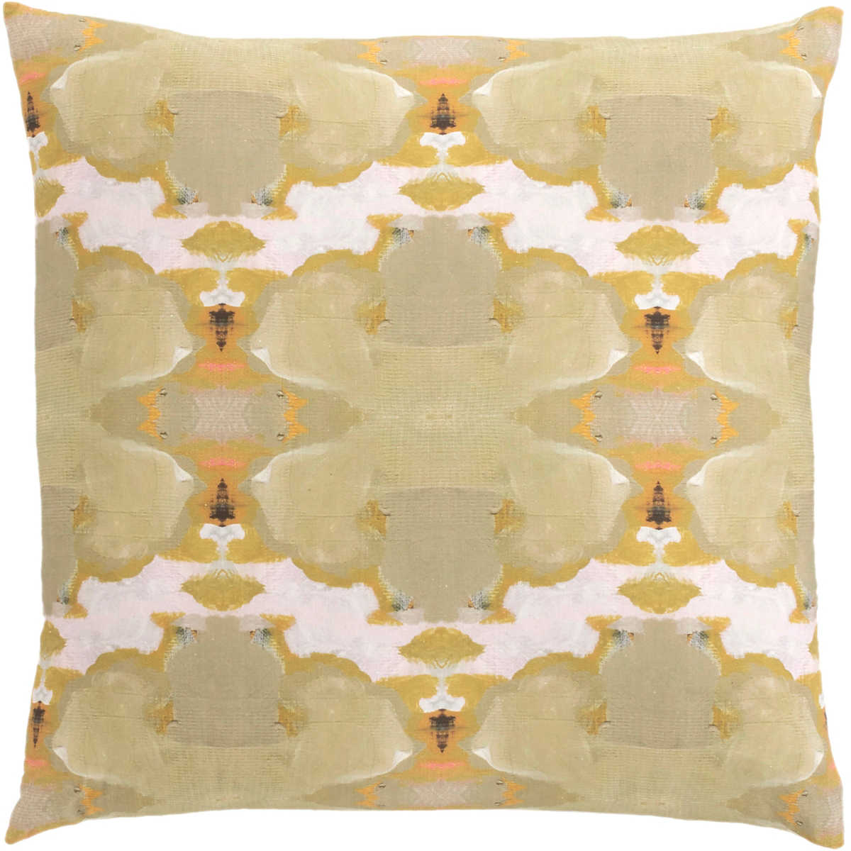 Psychedelia Olive Decorative Pillow | Furniture