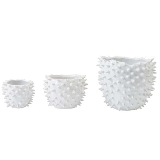 Puffer Pot/Set Of 3