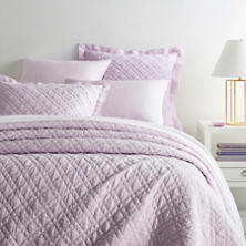Washed Linen Pale Lilac Quilt