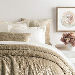 Brown Neutral Bedding Collections Pine Cone Hill