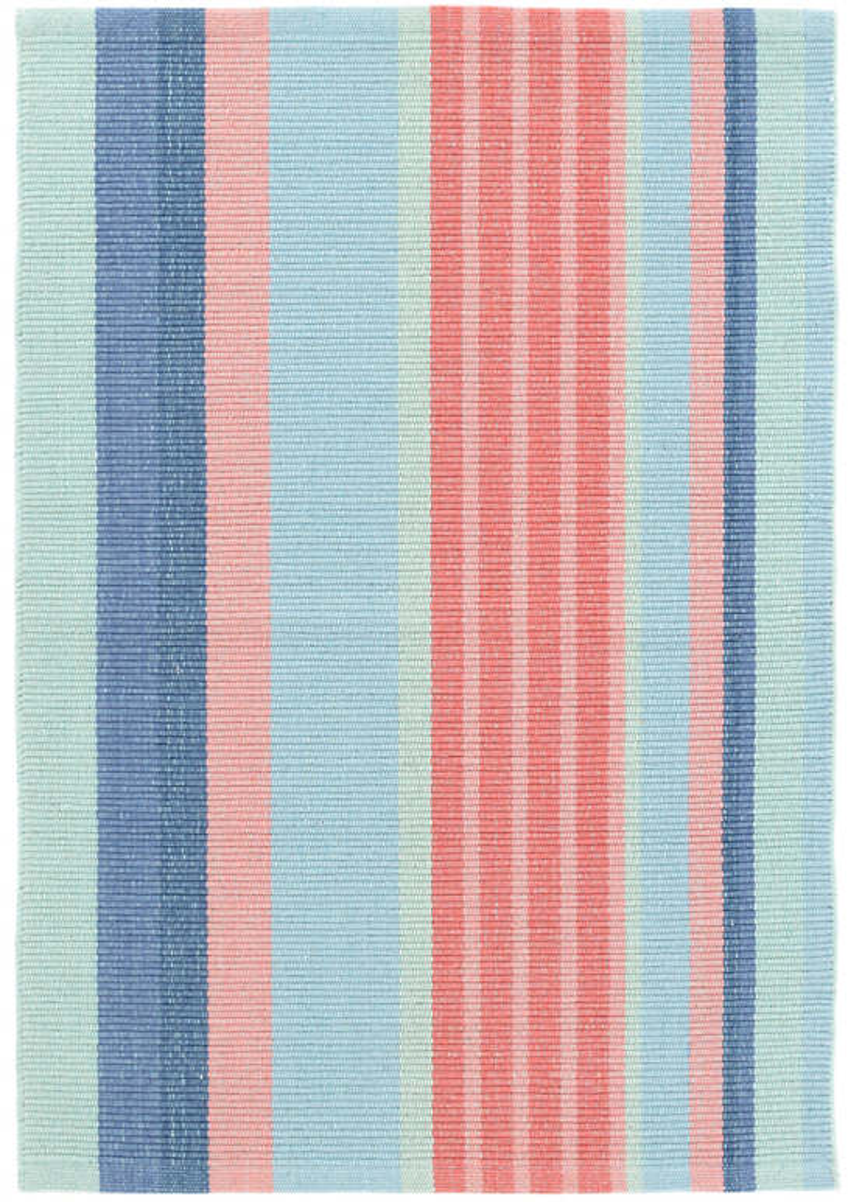 Aruba Stripe Woven Cotton Rug