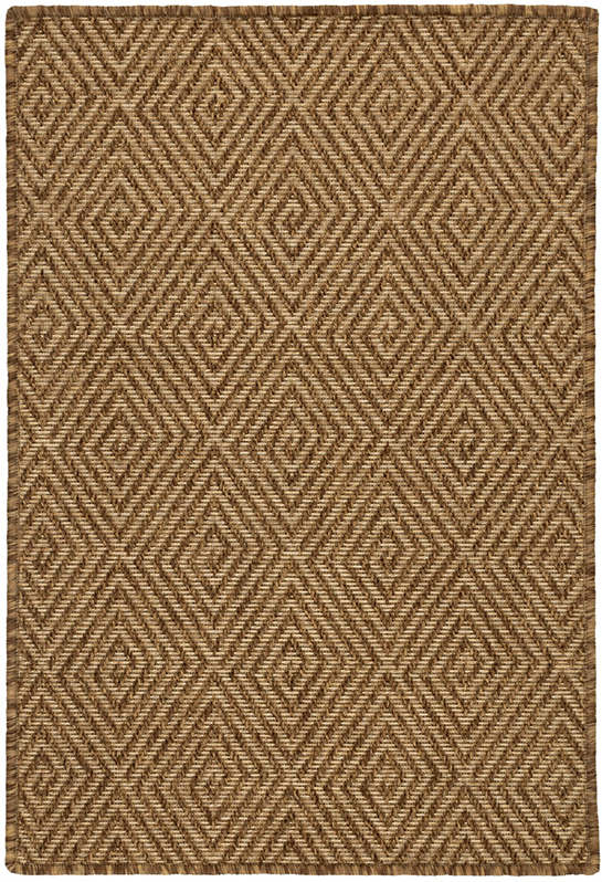 Cress Bark Indoor/Outdoor Custom Rug With Attached Rug Pad