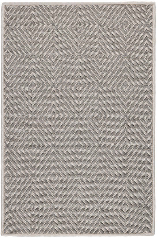 Cress Grey Indoor/Outdoor Custom Rug