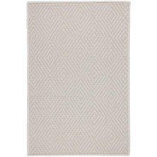 Cress Ivory Indoor/Outdoor Custom Rug