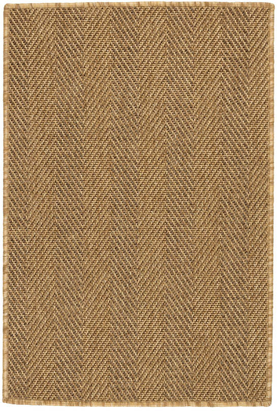 Cypress Bark Indoor/Outdoor Custom Rug With Attached Rug Pad