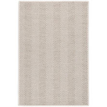 Cypress Birch Indoor/Outdoor Custom Rug With Attached Rug Pad