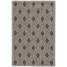 Gingko Greige Indoor/Outdoor Custom Rug