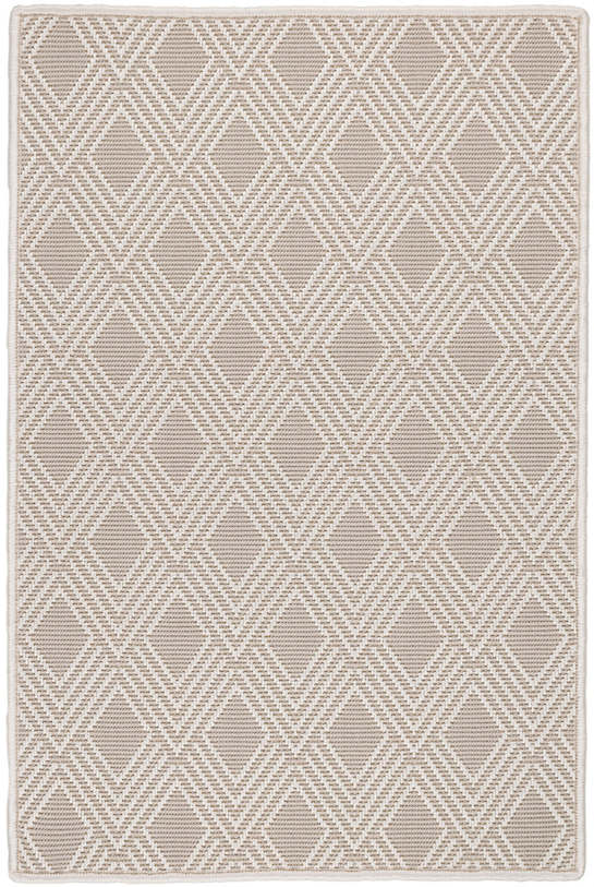 Gingko Platinum Indoor/Outdoor Custom Rug