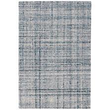 Harris Blue/Ivory Micro Hooked Wool Rug