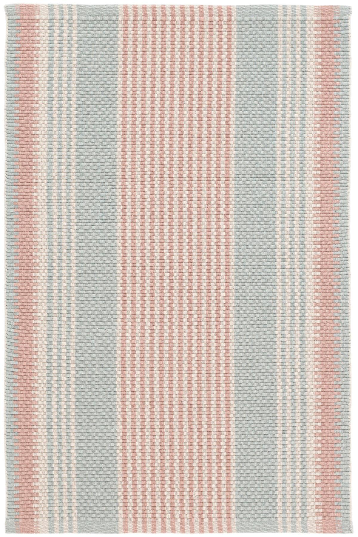 Island Stripe Woven Cotton Rug