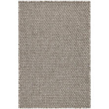 Laurel Grey Indoor/Outdoor Custom Rug With Attached Rug Pad