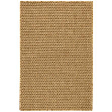Laurel Sand Indoor/Outdoor Custom Rug With Attached Rug Pad
